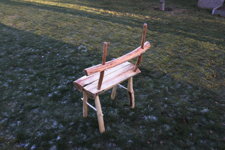 Split Log Chair